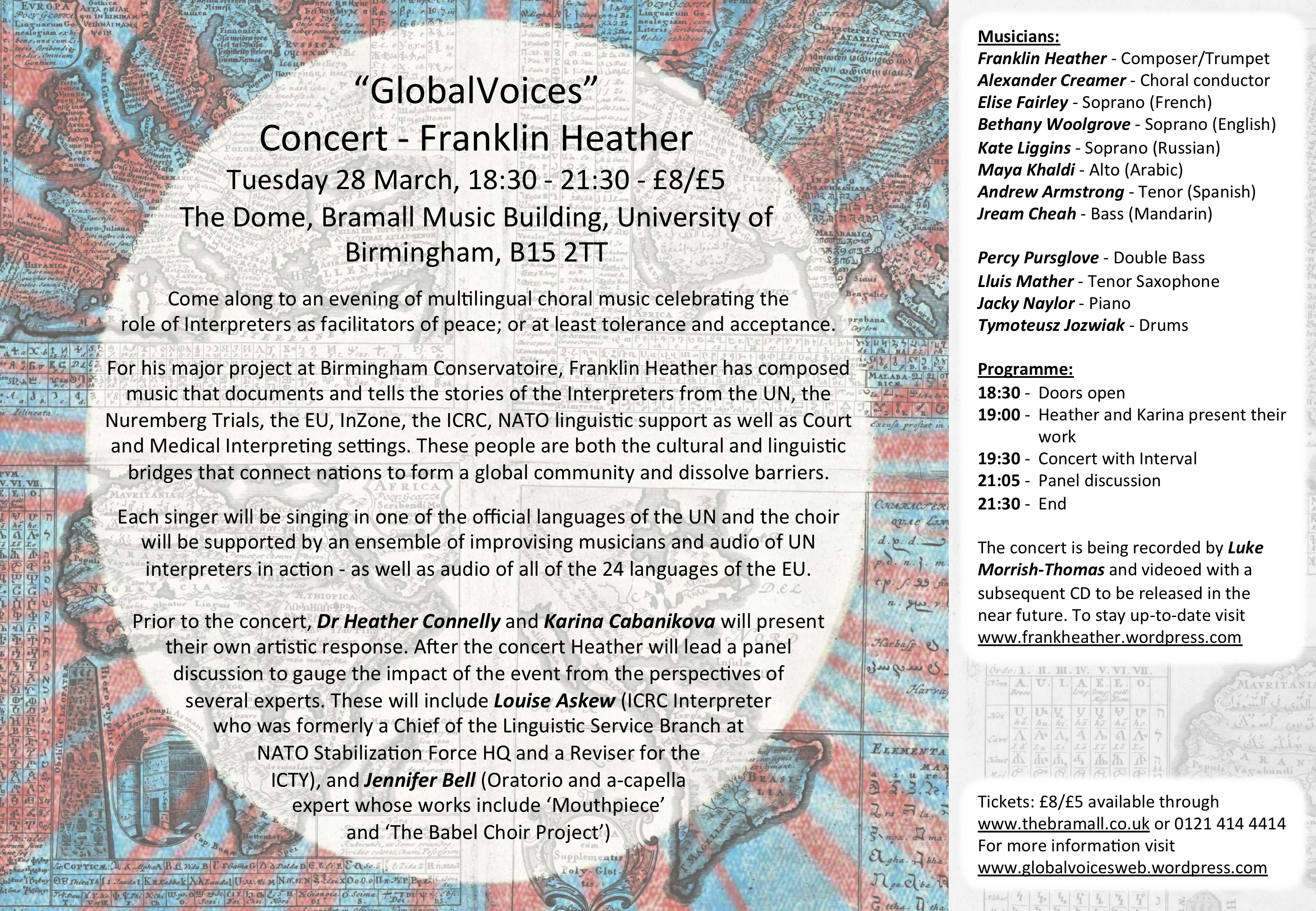GlobalVoice press release